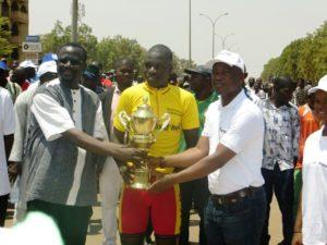 Le vainqueur de ce tour Salifou Bikienga