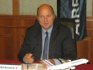 Le directeur régional d'Air France Denis Hasdenteufel
