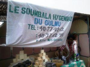 Les exposants lors des 72 heures du Gulmu à la maison du peuple.