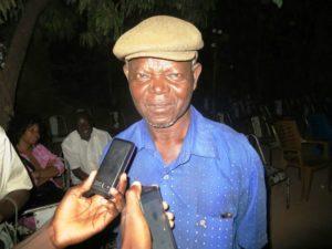 Monsieur EDOURD Zambelongo, gestionnaire administrative du Roseau