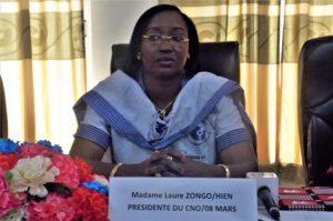 Madame Laure ZONGO/HIEN, Ministre de la Femme, de la Solidarité nationale et de la Famille