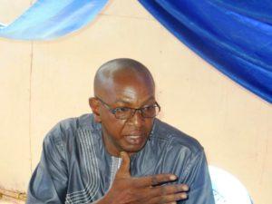 Monsieur Arouna Kaboré, parent d'élève