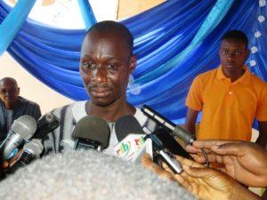 Le Directeur Général M. Pamtaba Boukary, promoteur du centre