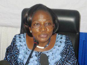 La Présidente du CSC Nathalie Somé