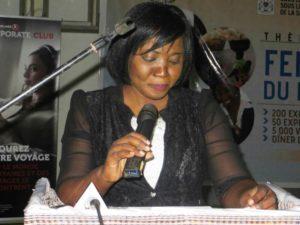 La promotrice du SIFO Mme Attié Celine très émue
