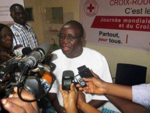 Le Secrétaire général de la croix rouge monsieur Lazare Zoungrana