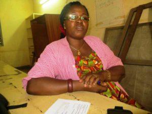 Mme Konkobo Sage- femme au centre de services conseils pour jeunes et médico scolaire du secteur 52 de Ouagadougou