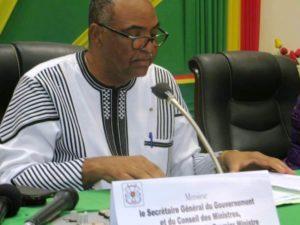 Le Secrétaire Général du gouvernement et du Conseil des Ministres  M.Alain Thierry Ouattara