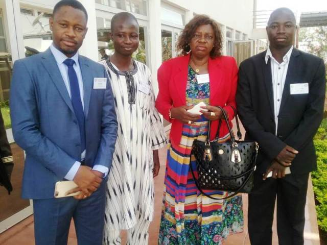 Les participants à la formation du Collège Sahélien de Sécurité