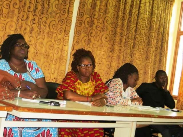 Les participants la conférence