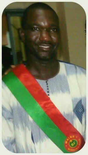 M. Jean NAKOULMA. Maire de l'arrondissement 6 de la ville de Ouagadougou, Doctorant en histoire. Gestionnaires des Risques Environnementaux.