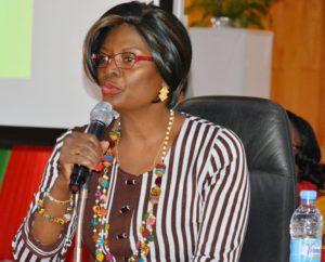 Mme Sika KABORE, épouse du Chef de l'Etat