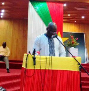 Dr Soumaila Ouédraogo, Ministre de la Jeunesse, de la Formation et de l'insertion Professionnelle.