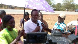 Le fils de Norbert Zongo, Guy Zongo à remercier les festivaliers.