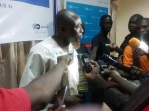 M. Sanfo Mohamed, président du RIJ.