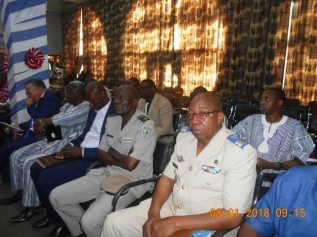 Les responsables des différentes départements du Ministère de la Sécurité.