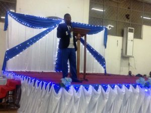 Le frère Emmanuel Ouédraogo du Buisson Ardent
