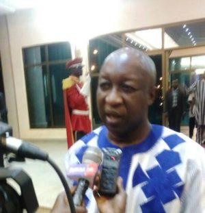 Le Premier ministre Paul Kaba Thiéba