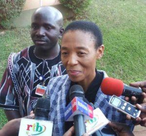 Mme Metsi MAKEHTA, coordonnatrice du système des nations unies et représentantes résidente du PNUD
