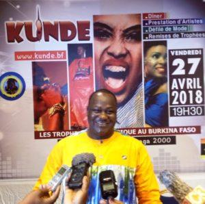 Le Commissaire général des kundés, Salif Soré alias Dja Presse.