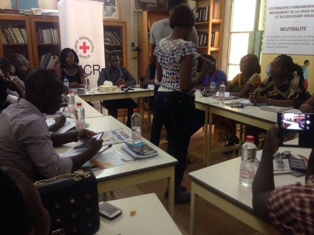 Les participants à cette rencontre du lancement officiel du concours radiophonique au Burkina Faso