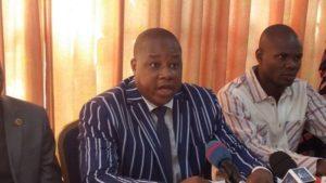 M. Aristide Ouédraogo, président du FPR