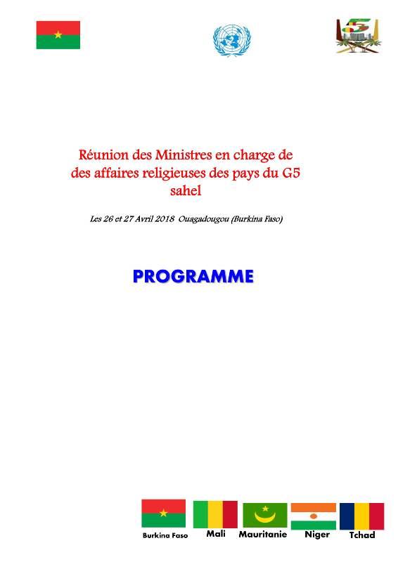 Programme Réunion ministre en charge des Affaires religieuses (1)-1