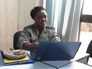 La chargée de communication de la police nationale, Minata Ouédraogo