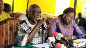 Moussa Zerbo, porte-parole du parti