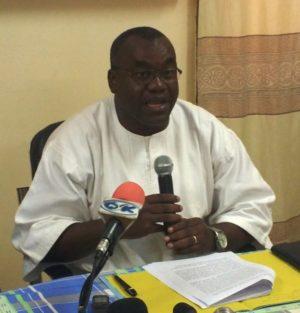 Adama Séré, du Rassemblement des écologistes du Burkina Faso (RDEBF)
