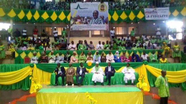Des hommes politiques africains ont assisté au 2ème congrès ordinaire de l'UPC . A noté la présence du chef de file de l' opposition politique guinéenne CELLOU DALEIN DIALLO 3ème à partir de la droite