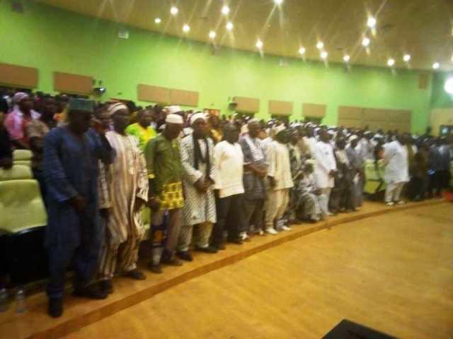 Les invités à la cérémonie