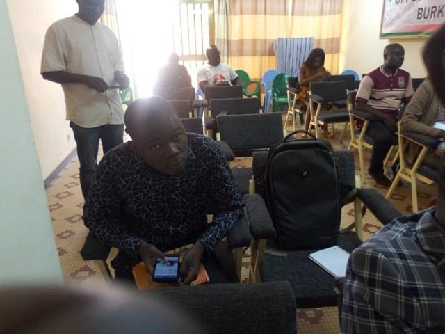 Les participants a la conférences