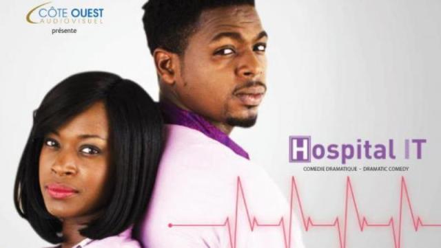 La série togolaise « Hospital IT », produite par Côte Ouest Audiovisuel. Côte Ouest