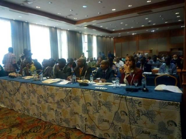 Les participants(es) à ce séminaire régional de haut niveau