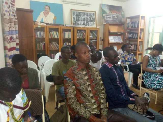 Les participants a cette rencontre de la ligue des Consommateurs, section Kadiogo (LC-SK)