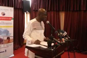 Le Ministre de culture M. Abdoul Sango