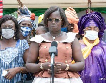 Le président à Pô:  les femmes sollicitent la clôture et l'équipement de la Maison de la femme