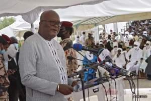 Le président du Faso Roch Marc Christian Kaboré