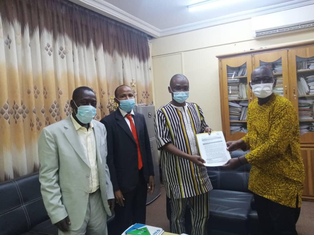 Plaidoyer au près des autorités du ministère de la santé du Burkina Faso