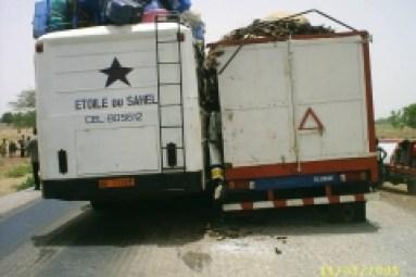 Accident de poids lourd