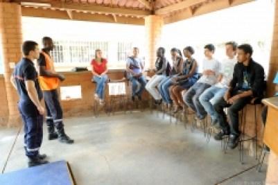 Secourisme dans un lycée de Ouagadougou
