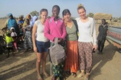 Moment de partage avec les habitants de Basgana