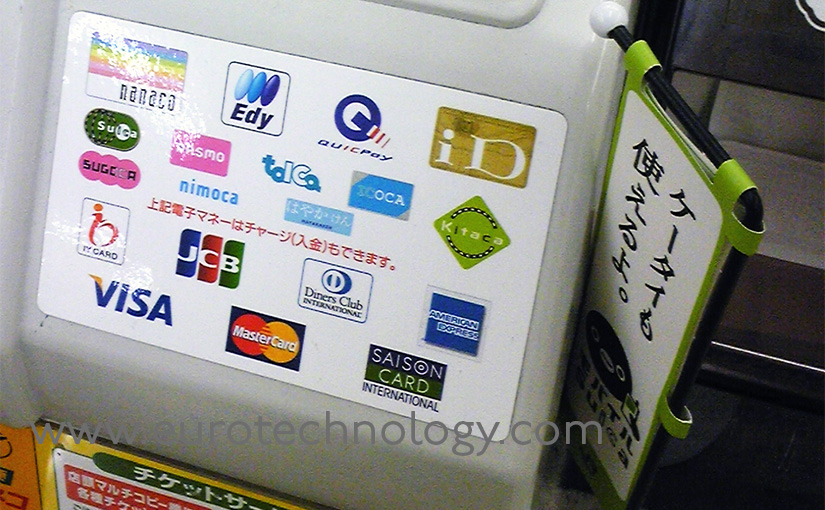 Felica RFID wallet phones