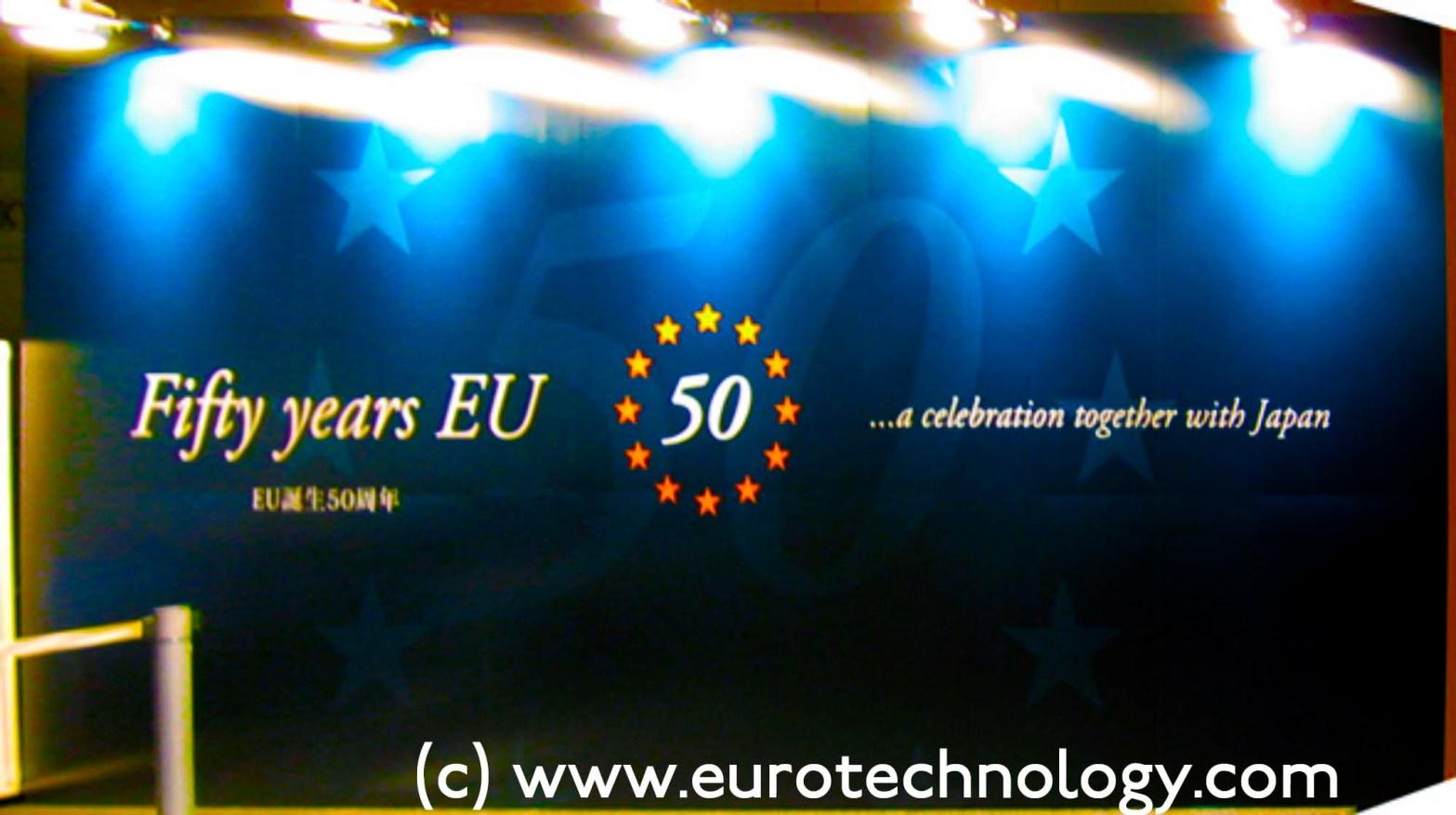50 years EU celebration in Tokyo