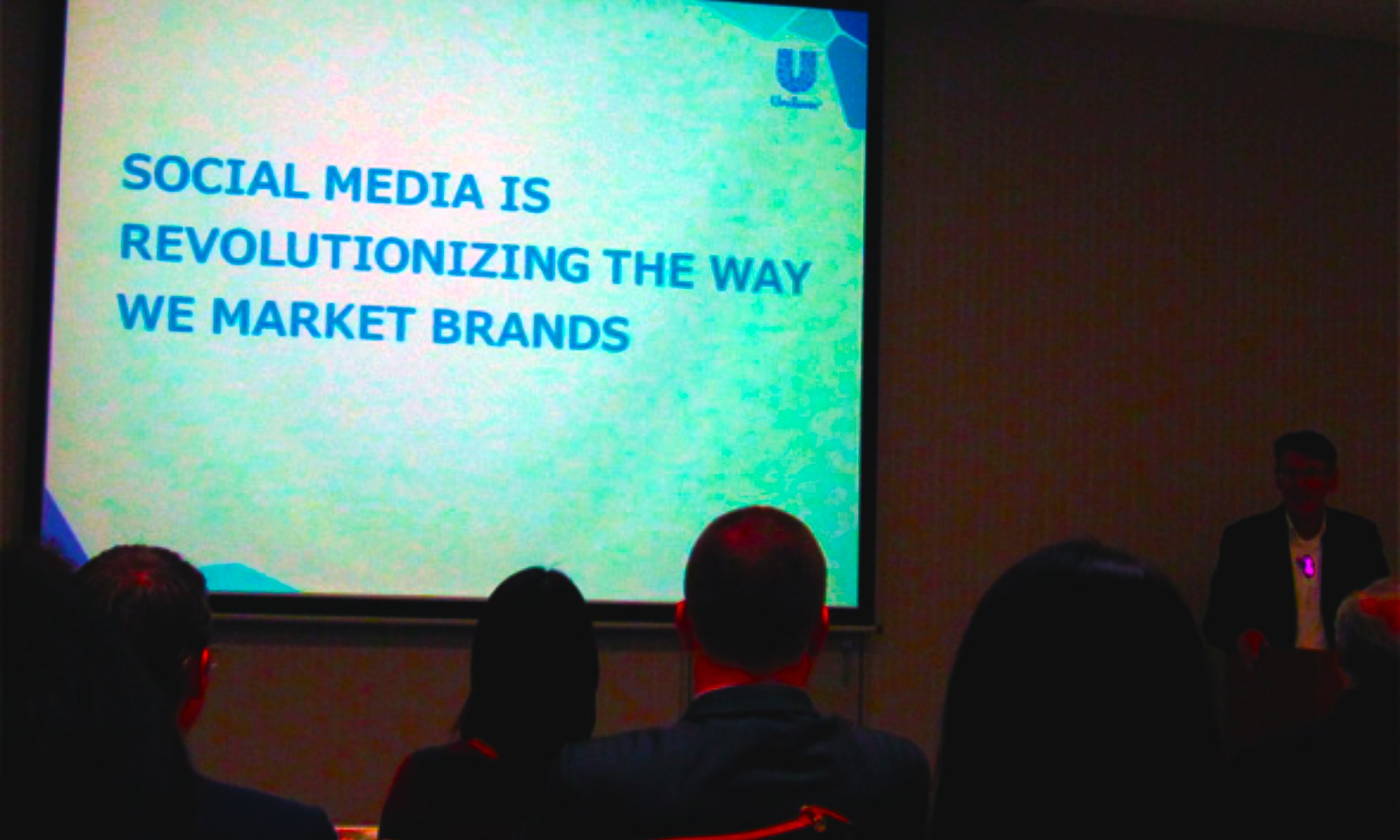 Social media revolutionize how we market brands (Ray Bremner, President & CEO, Unilever Japan)