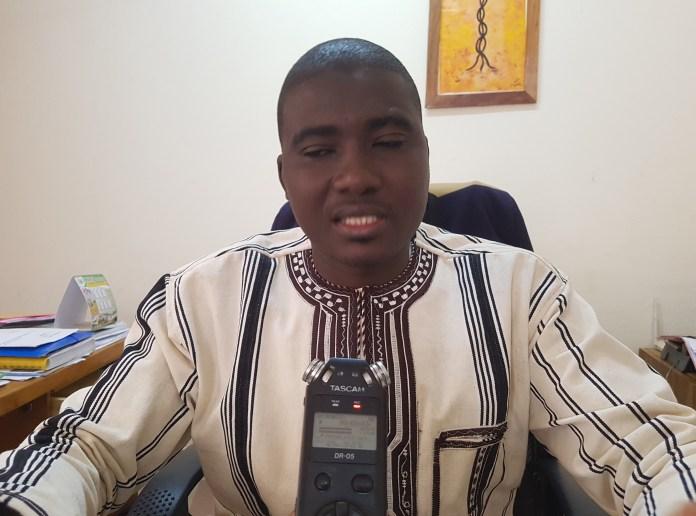 Kadré Sawadogo, Directeur régionale de la culture, des arts et du tourisme de la région du Centre-Ouest
