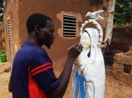Koudougou-sculpture-Gouamwaoga -Jérôme- Kaboré