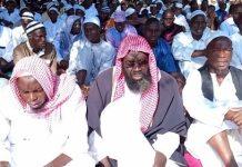 LAïd- El- Kébir- les -musulmans –de- Léo –ont- prié- pour- la- paix