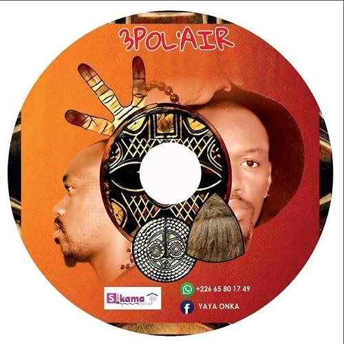 3POL'AIR - le coffret- album –et- livre -de –Yaya- Onka